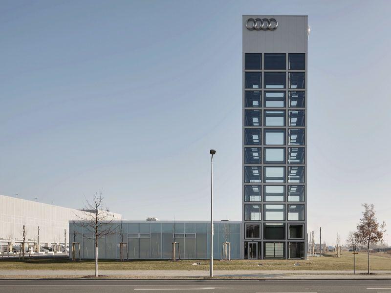 khs.architekten - audi zentrum berlin adlerhof
